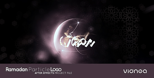Videohive Ramadan Particle Logo 20021750
