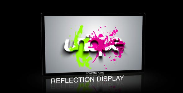 Videohive Reflection Display 86859