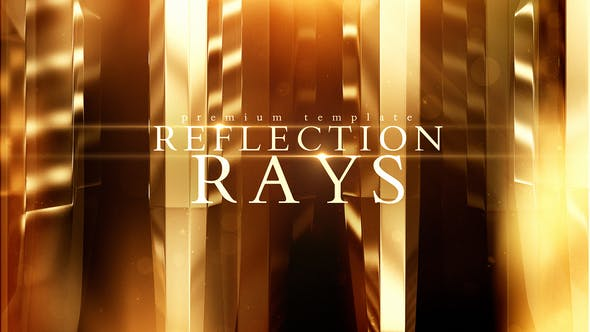 Videohive Reflection Rays 21805642