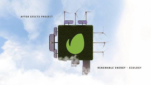 Videohive Renewable Energy - Ecology 22115412
