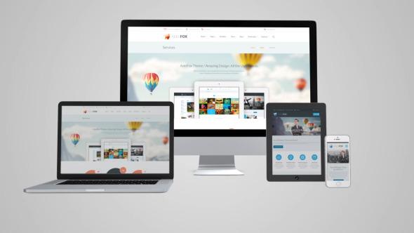 Videohive Responsive Website - Device Business Presentation 8173297