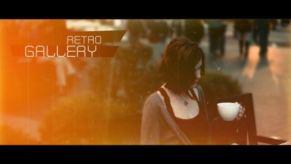 Videohive Retro Gallery 5217756