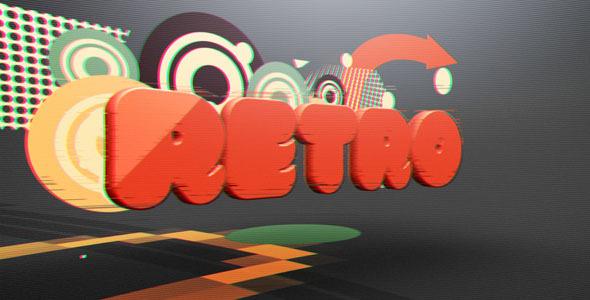 Videohive Retro Glitch Reveal 9196211