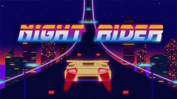 Videohive Retro Rider 16562970