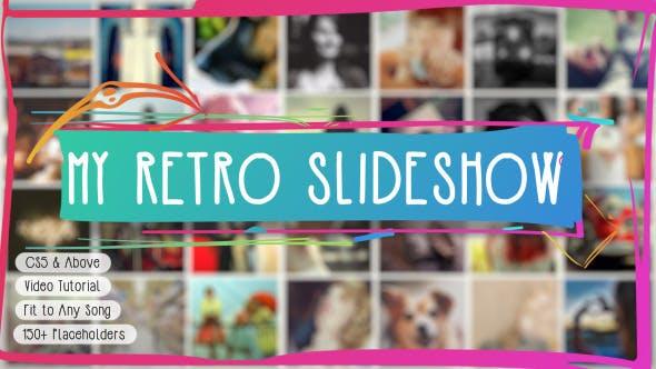 Videohive Retro Slideshow 10277327