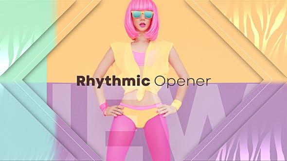 Videohive Rhythmic Opener 23426363