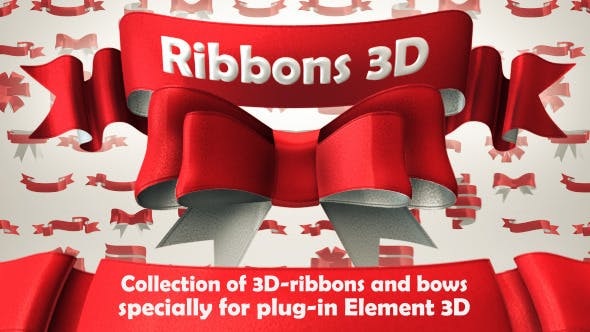 Videohive Ribbons 3D 6476097