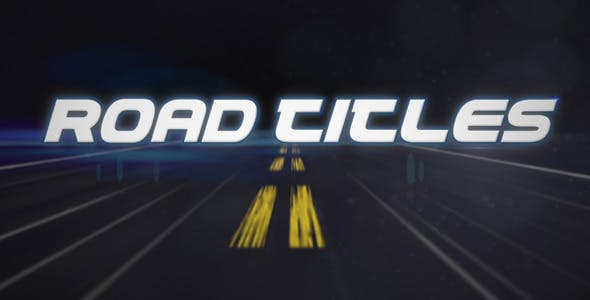 Videohive Road Titles 410981