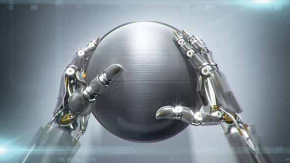Videohive Robotic Hands 9213531
