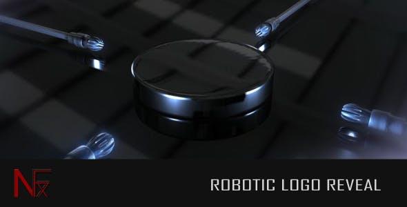 Videohive Robotic Logo Reveal 2025860