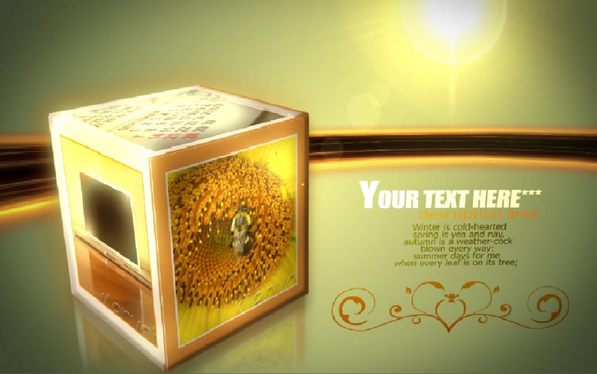 Videohive Rolling Cubes 36503