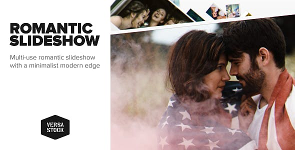 Videohive Romantic Slideshow 21413855