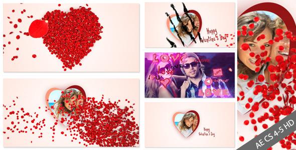Videohive Rose Valentine Day v2