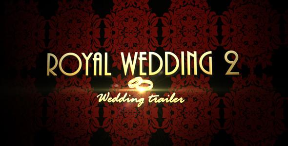 Videohive Royal Wedding 2 - Wedding trailer 129364