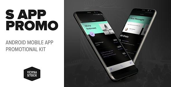 Videohive S Phone App Presentation 20789586