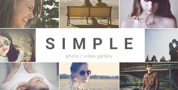 Videohive SIMPLE - Parallax Photo Gallery 10030329