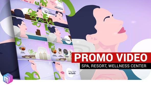 Videohive SPA Resort Wellness Center 27269755