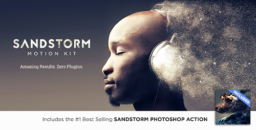 Videohive SandStorm Motion Kit 18437528