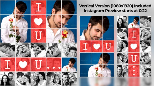 Videohive Saying Love Instagram Story 14856016