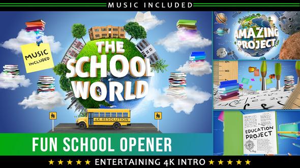 Videohive School Education Opener 22606032