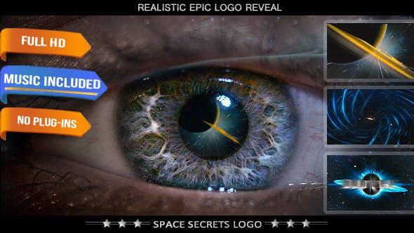 Videohive Sci-Fi Space Science Logo Intro 6134876