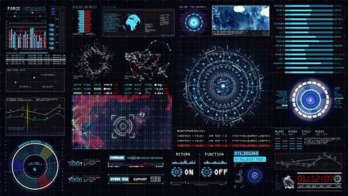 Videohive Sci-fi Interface HUD 15089902