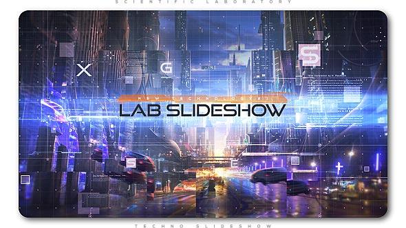 Videohive Scientific Laboratory Techno Slideshow 21393365