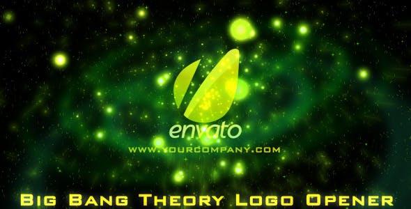 Videohive Scifi Big Bang Theory - Cinematic Logo Opener 2758868