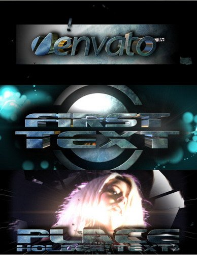 Videohive Scifi Trailer 3D Text 53950
