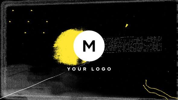 Videohive Scribble Grunge Distortion Logo 26464555