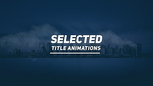 Videohive Selected Titles 20016207