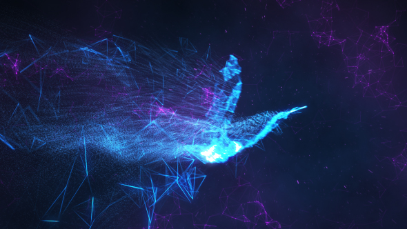 Videohive Serenity Abstract Bird Reveal 18240307