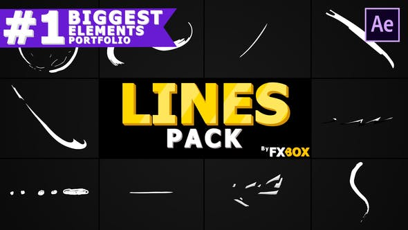 Videohive Shape Lines 23373761