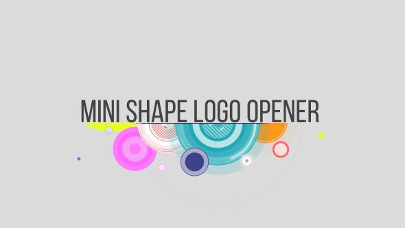 Videohive Shape logo minimal 10600768