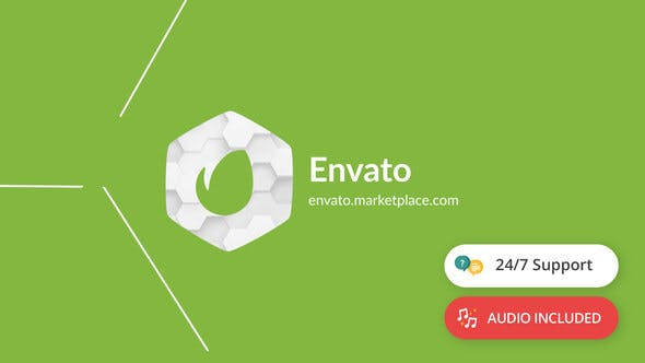 Videohive Shapes Logo Reveal 19223618