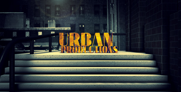 Videohive Shattered An Urban Movie Intro