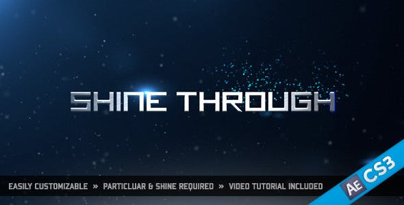 Videohive Shine Through 1026139