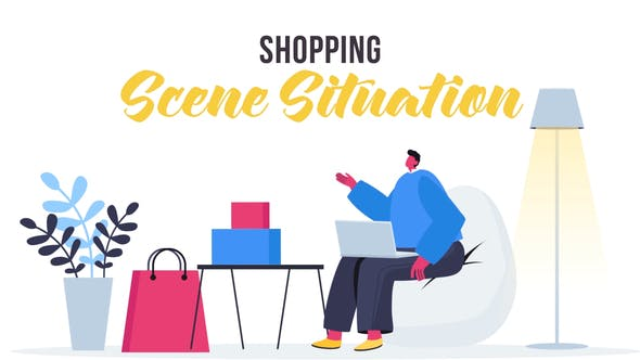 Videohive Shopping - Scene Situation 27642742