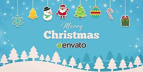 Videohive Short Christmas Intro 19061959