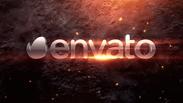Videohive Short Fiery Logo 9147217
