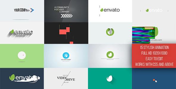 Videohive Short Logo Reveal Pack 11061894