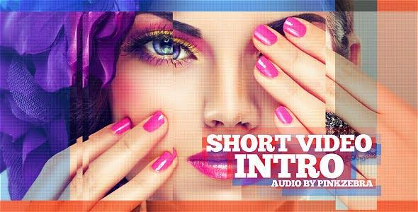 Videohive Short Video Intro 7654056