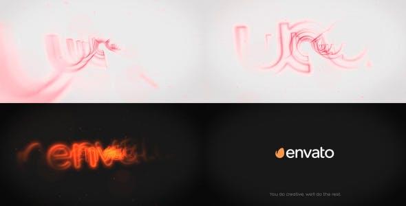 Videohive Silhouette Logo Reveal 7840029