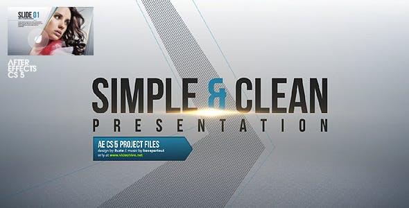Videohive Simple Clean Presentation 2620498
