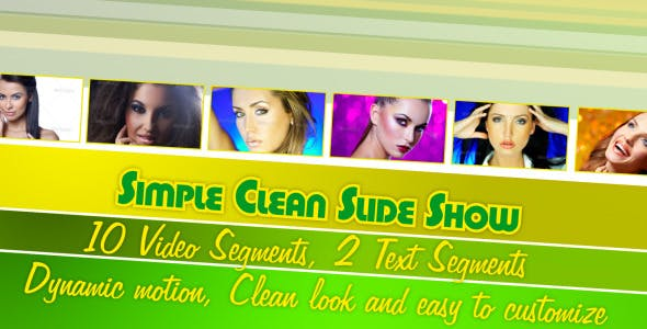 Videohive Simple Clean Slide Show 2883907