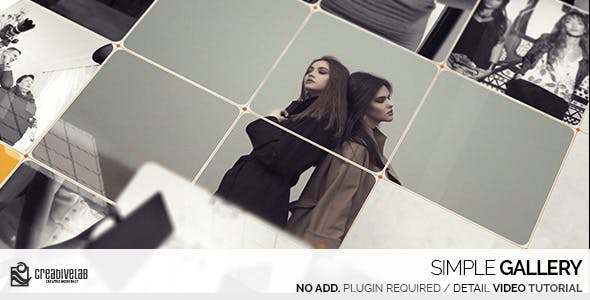 Videohive Simple Gallery 20192001