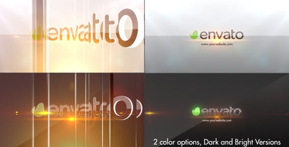 Videohive Simple Glossy Slider Logo 7205074