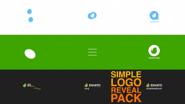 Videohive Simple Logo Reveal Pack 8218242