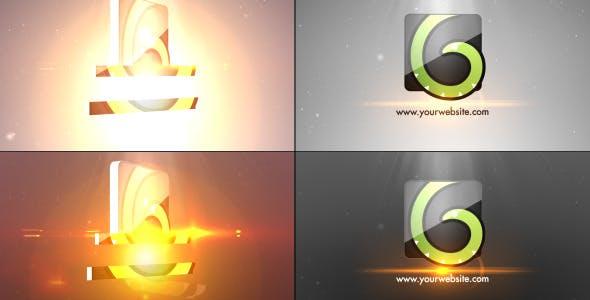 Videohive Simple Minimal Flip Logo 8943854