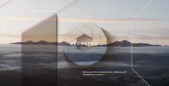 Videohive Simple Shapes Opener 21453555